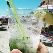 Mojito på stranden